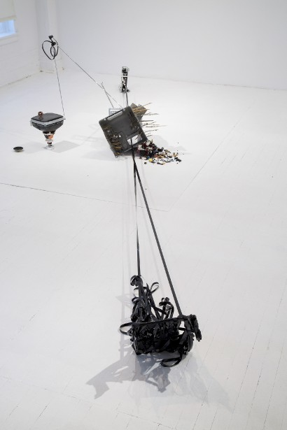 <em>Recycling No.1</em>, une oeuvre de Dong-Kyoon Nam (Jean-Francois Lamoureux)