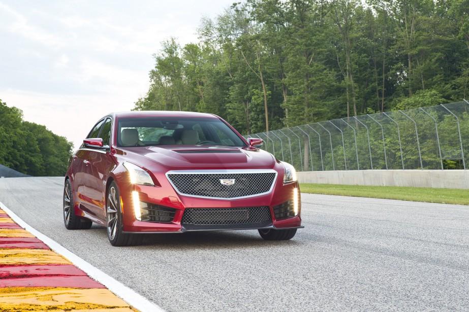 Cadillac CTS-V 2017.<br /><br /> ()