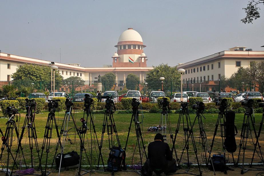 Les juges de la Cour suprême ont indiqué... (PHOTO ANINDITO MUKHERJEE, ARCHIVES REUTERS)