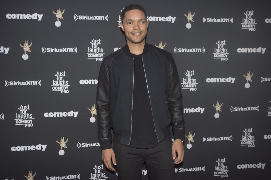 L'animateur du <em>Daily Show</em>, Trevor Noah (Photo Graham Hughes, PC)