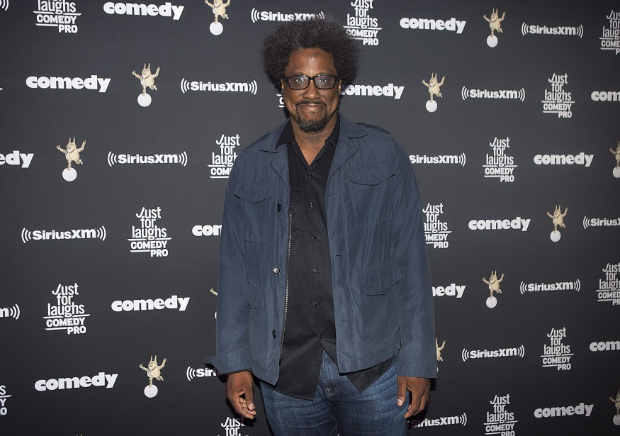 L'humoriste et animateur à CNN W. Kamau Bell (Photo Graham Hughes, PC)
