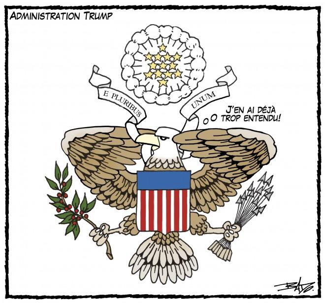 Caricature du 29 juillet (Le Droit, Guy Badeaux)