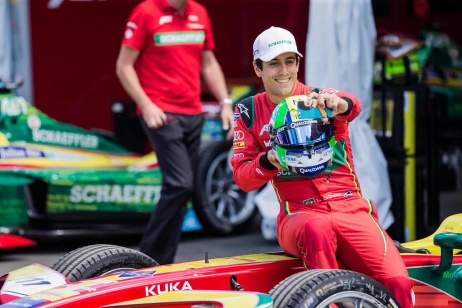Le Brésilien Lucas DiGrassi, vice-champion du monde l'an... (Photo Edouard Plante-Fréchette, La Presse)