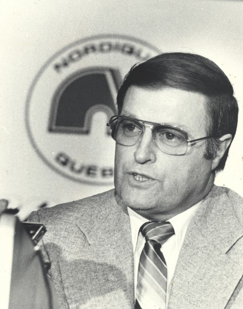 En 1981, alors directeur général des Nordiques (Archives Le Soleil)