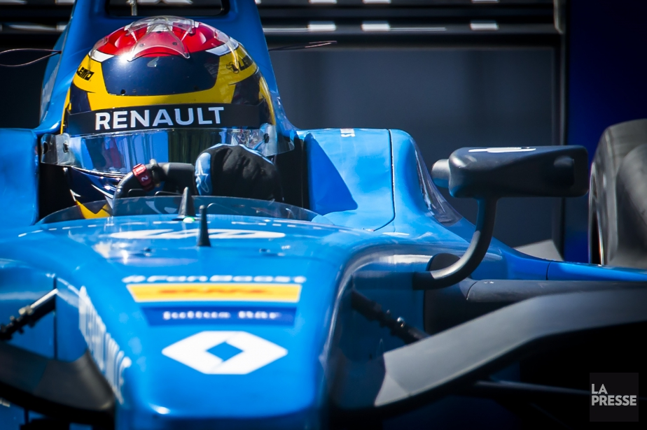 Le pilote suisse Sébastien Buemi connaît un week-end difficile... (PHOTO OLIVIER JEAN, LA PRESSE)