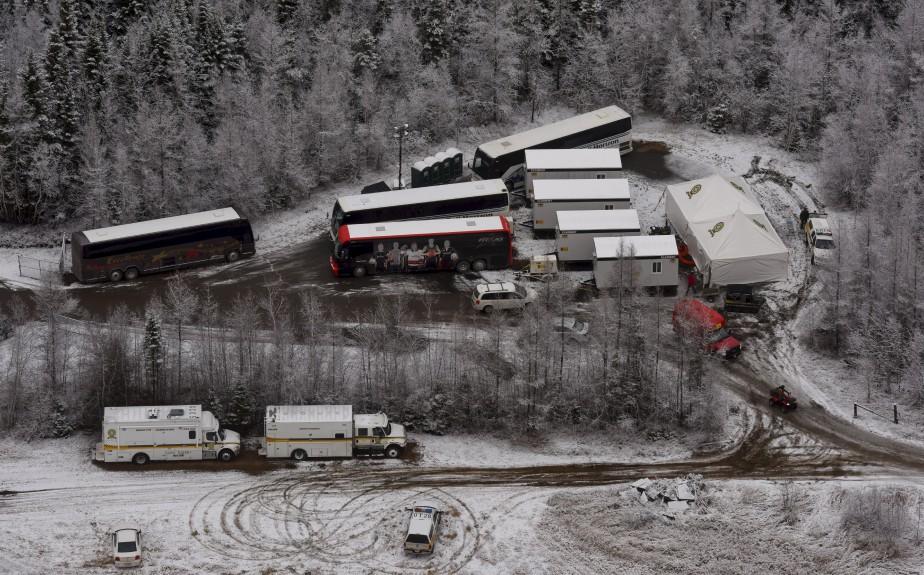 La découverte des ossements de Cédrika Provencher, le 11 décembre 2015, est suivie de l'arrivée d'un poste de commandement de la Sûreté du Québec. | 30 juillet 2017
