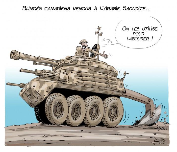 Caricature du 31 juillet (en reprise) (Le Soleil, André-Philippe Côté)