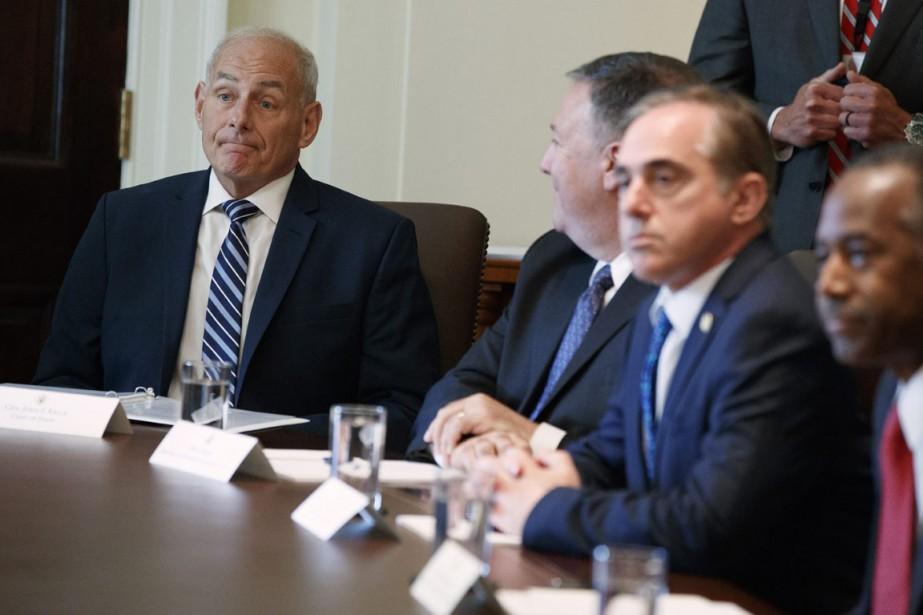 Le nouveau secrétaire général de la Maison-Blanche John... (PHOTO EVAN VUCCI, ASSOCIATED PRESS)