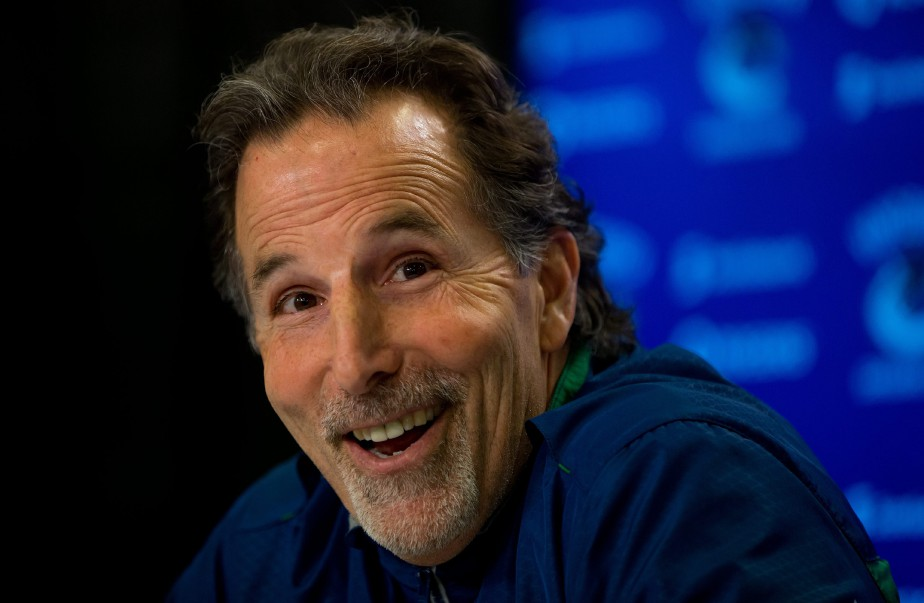 L'entraîneur de l'année, John Tortorella.... (Photo  Darryl Dyck, AP)