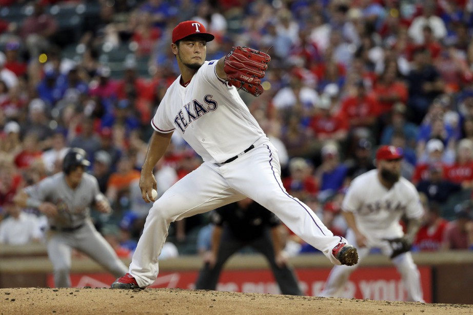 Yu Darvish... (PHOTO AP)