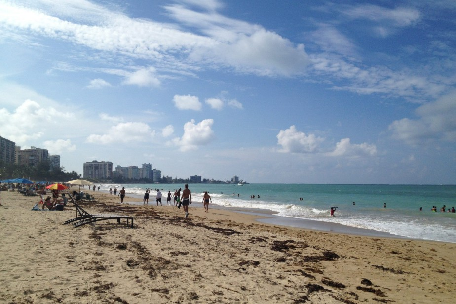 Une plage de Porto Rico.... (ARCHIVES AP)