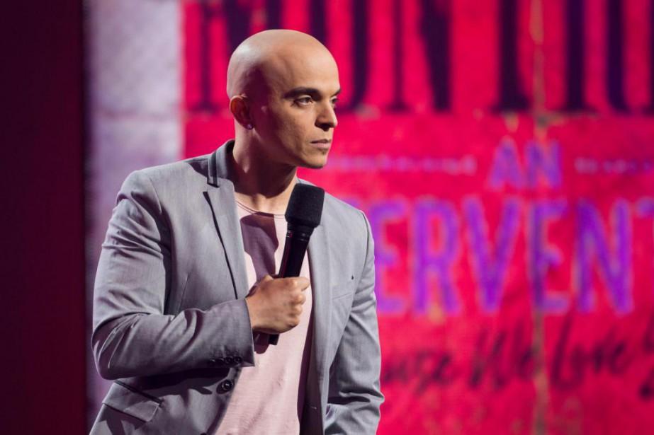 RachidBadouri fait partie des humoristes qui ont participé... (Photo Olivier PontBriand, La Presse)