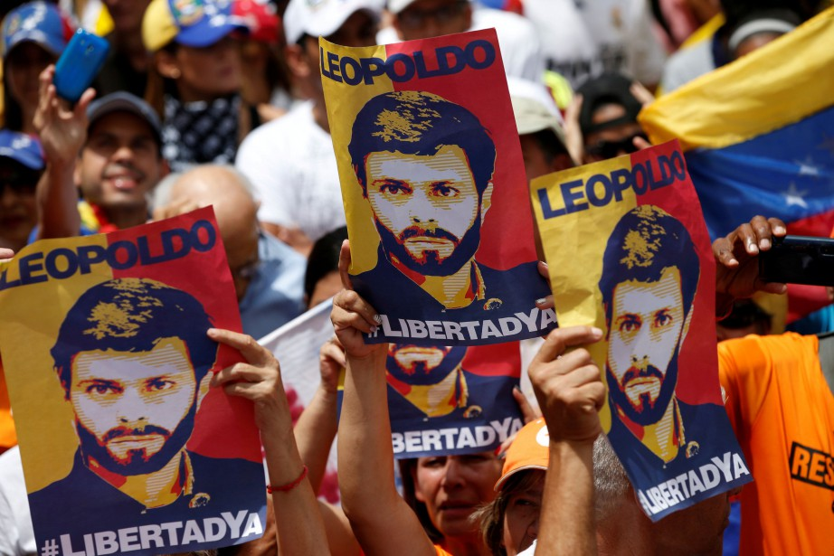 Leopoldo Lopez, fondateur du parti de droite Voluntad... (Photo Andres Martinez Casares, archives REUTERS)