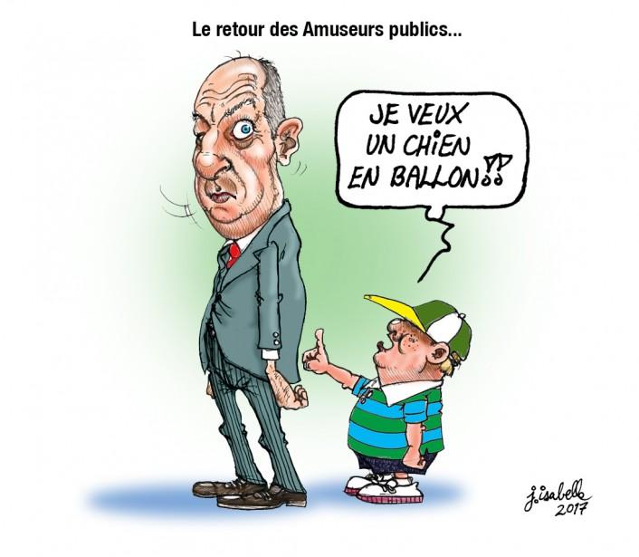 Caricature du 1er août | 1 août 2017