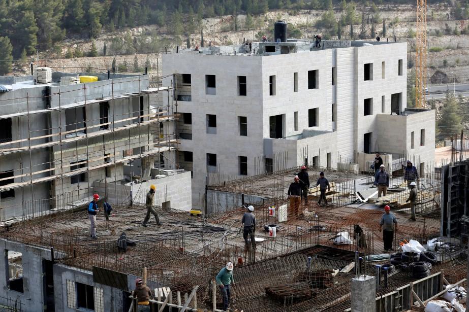 La colonisation, c'est-à-dire la construction d'implantations civiles en... (PHOTO ARCHIVES REUTERS)