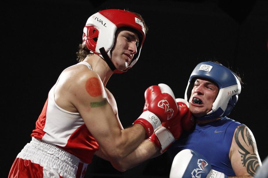 Justin Trudeau et Patrick Brazeau lors de leur... (Photo Chris Wattie, archives Reuters)