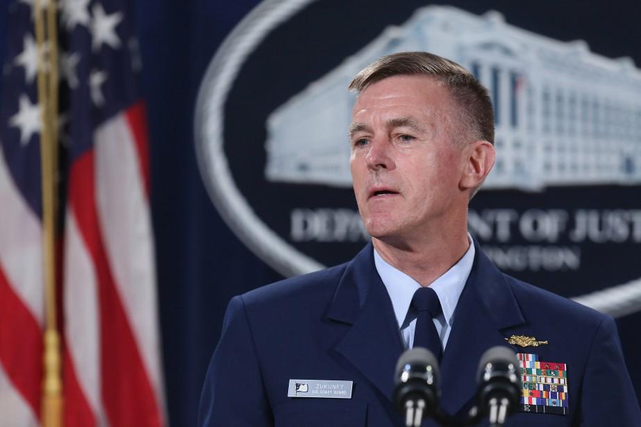 Le corps des garde-côtes américain a mis en... (ARCHIVES AFP)