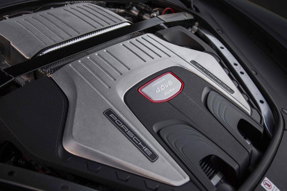 Le moteur de la Porsche Panamera Sport Turismo | 2 août 2017