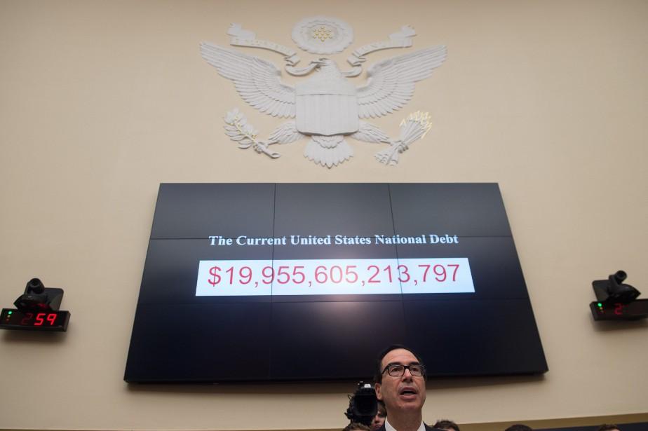 Le secrétaire au Trésor Steven Mnuchin a prévenu... (PHOTO NICHOLAS KAMM, AFP)