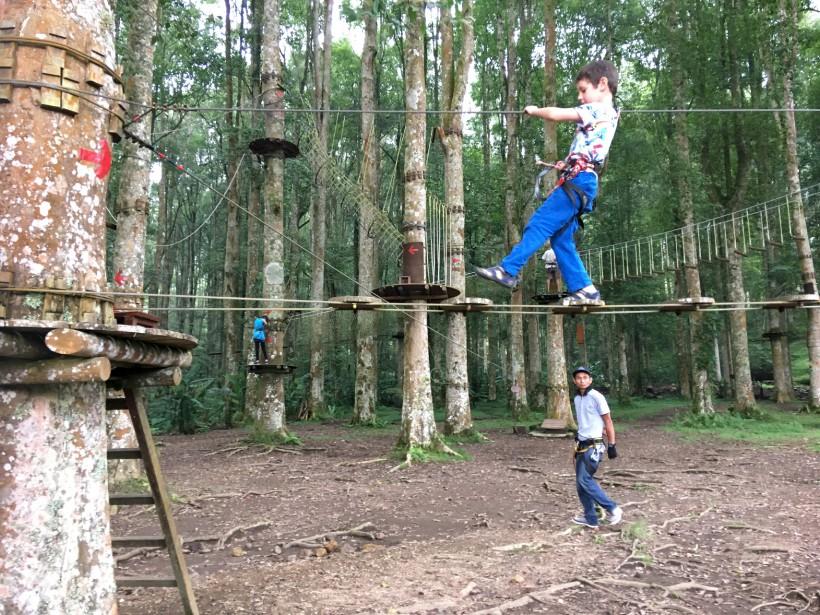 Le parc d'aventures Bali Tree Top (collaboration spéciale Nadielle Kutlu)