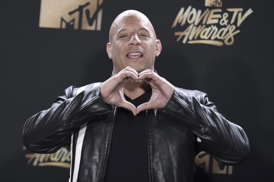 Vin Diesel... (PHOTO AP)