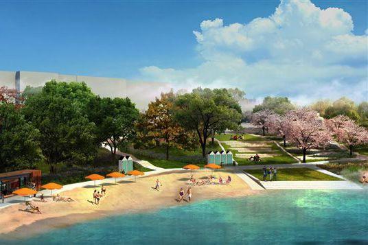 L'arrondissement avait annoncé le projet de 4,1 millions... (illustration fournie parWAA Montréal)