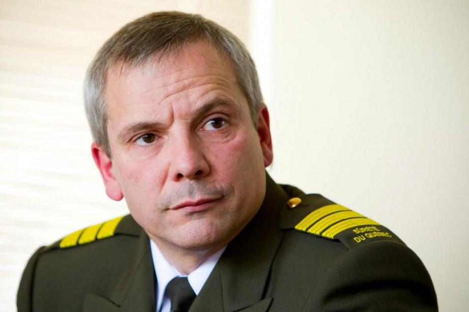 Le policier Denis Morin, qui a dirigél'escouade Marteau,... (PhotoAlain Roberge, Archives La presse)