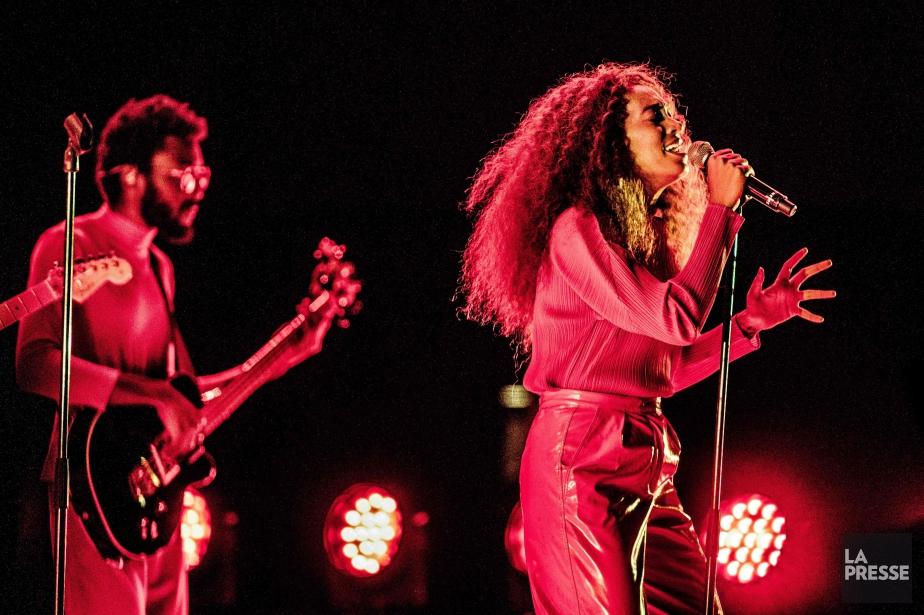 Solange en concert à Rotterdam, le 8 juillet... (PHOTO Paul Bergen, archives AFP)