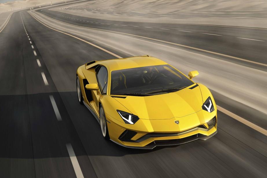 La Lamborghini Aventador... | 2017-08-04 00:00:00.000