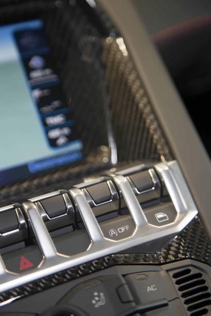 L'intérieur dela Lamborghini Aventador | 4 août 2017