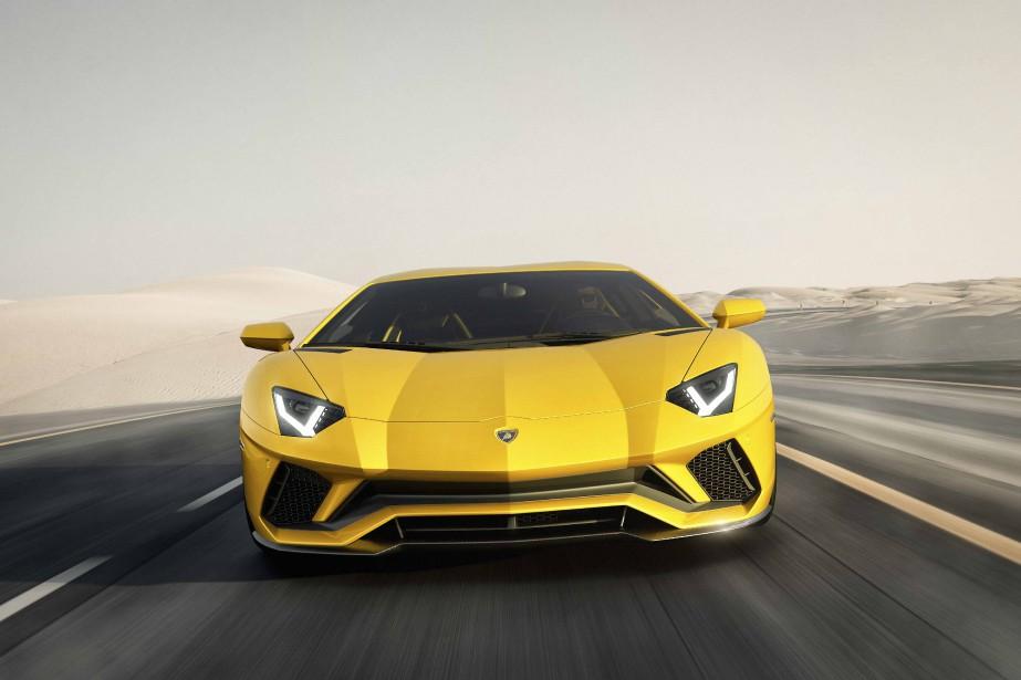 La Lamborghini Aventador | 4 août 2017
