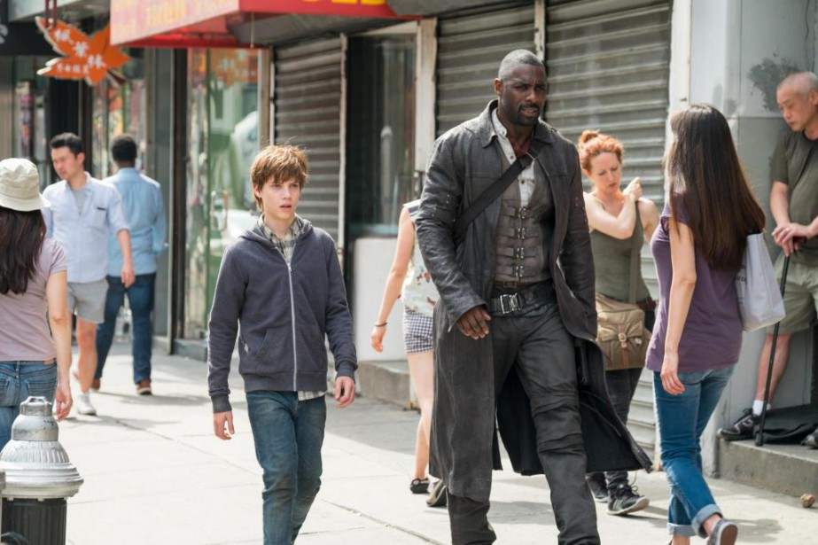 Roland (Idris Elba) et Jake (Tom Taylor) dans The... (Photo fournie par Columbia Pictures)