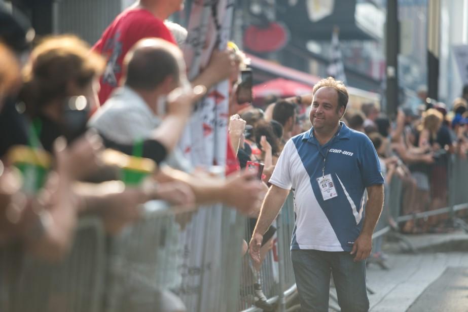 Le directeur général du GP3R, Dominic Fugère. | 4 août 2017