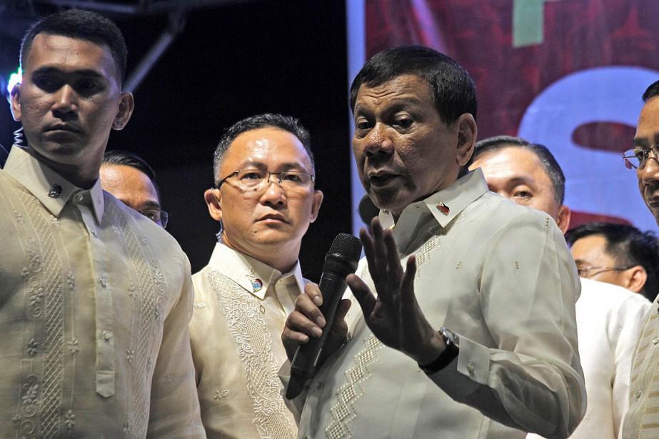 Le président philippin Rodrigo Dutertea demandé au Congrès... (PHOTO VINCENT GO, ARCHIVES AGENCE FRANCE-PRESSE)