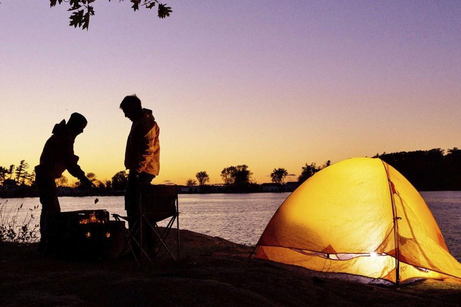 En juillet, les parcs nationaux ont reçu un... (Photo fournie par Parcs Canada)