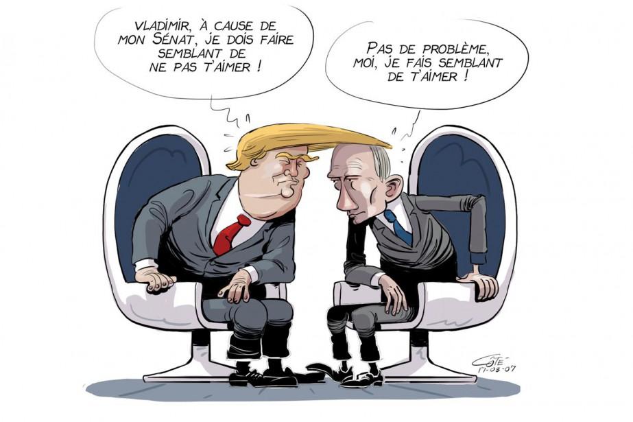 Caricature du 7 août | 6 août 2017