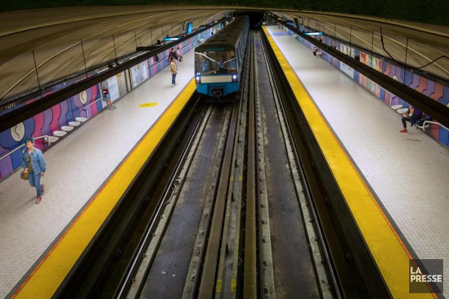 L'extension de la ligne bleue, d'une distance de... (PHOTO OLIVIER JEAN, ARCHIVES LA PRESSE)