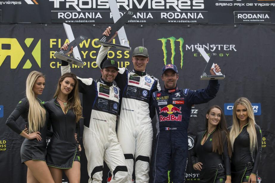 Petter Solberg, Johan Kristoffersson et Sébastien Loeb ont formé le... | 2017-08-06 00:00:00.000
