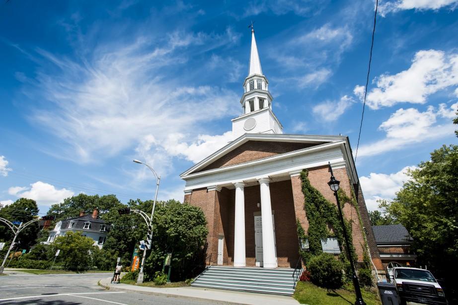 Église Plymouth TrinityCe temple témoignant de l'influence du style néogrec... | 2017-08-07 00:00:00.000