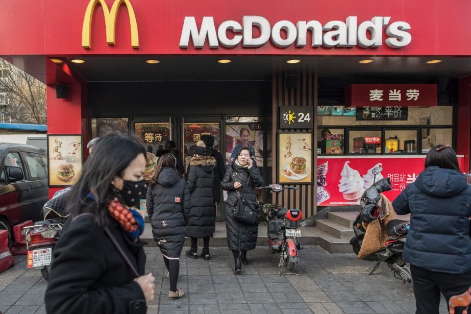 La Chine sera bientôt le plus grand marché... (PHOTO FRED DUFOUR, archives AFP)