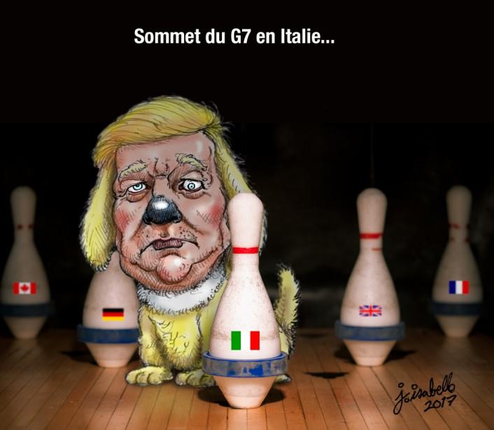 Caricature du 8 août | 8 août 2017