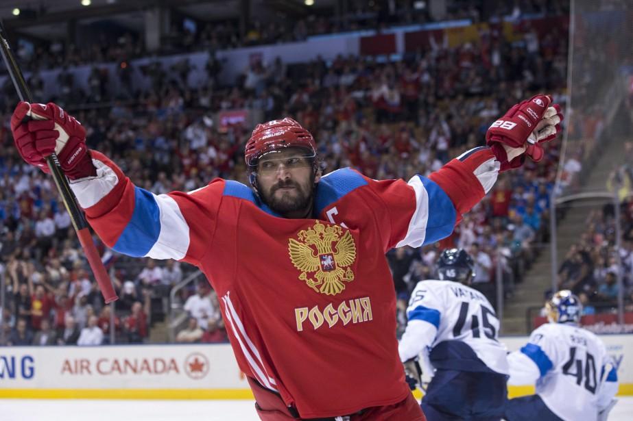 Alex Ovechkina été le capitaine de l'équipe russe... (La Presse canadienne, Chris Young)