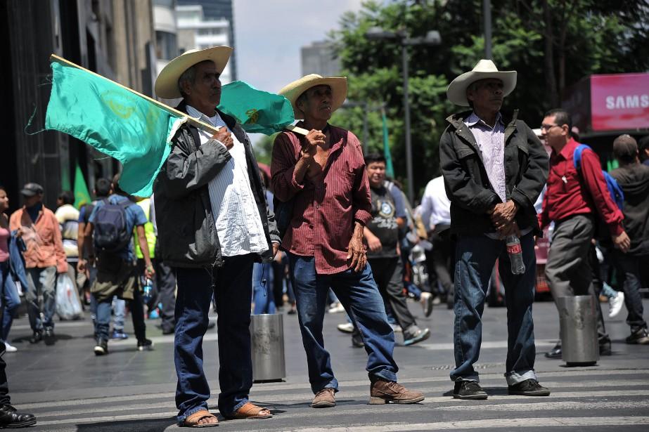 Les trois pays-membres de cet accord de libre-échange,... (PHOTO Bernardo Montoya, AFP)