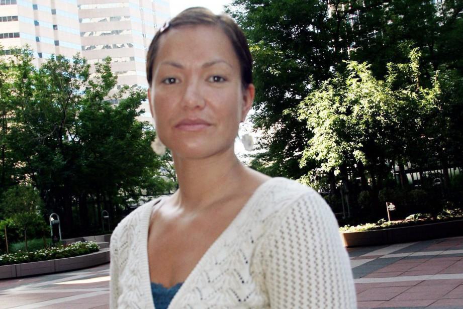Waneek Horn-Miller occupait le poste de directrice des... (Photo David Zalubowski, archives La Presse canadienne)