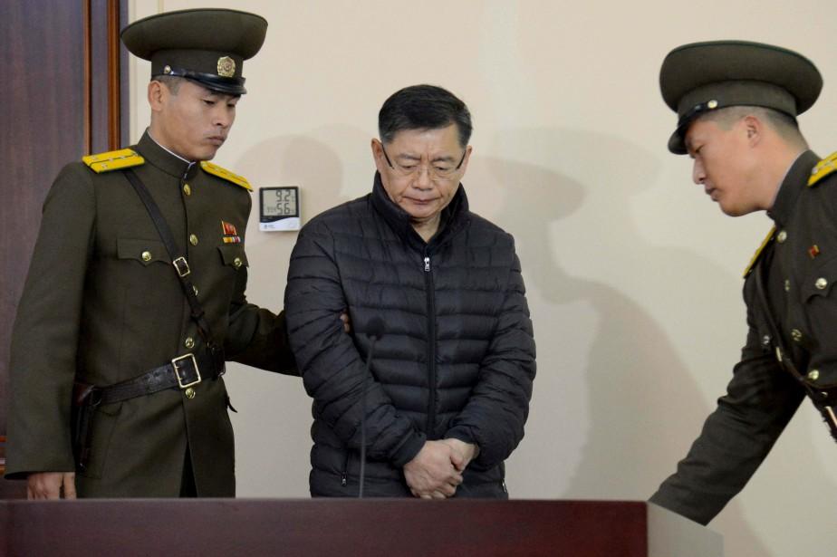 Le ressortissant canadien Hyeon Soo Lima effectué plusieurs... (Photo archives REUTERS)