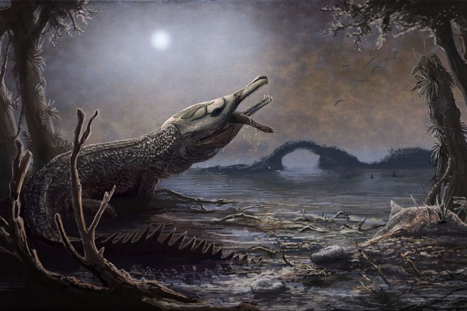 Lemmysuchus, qui vivait durant la période du Jurassique,... (PHOTO AFP)