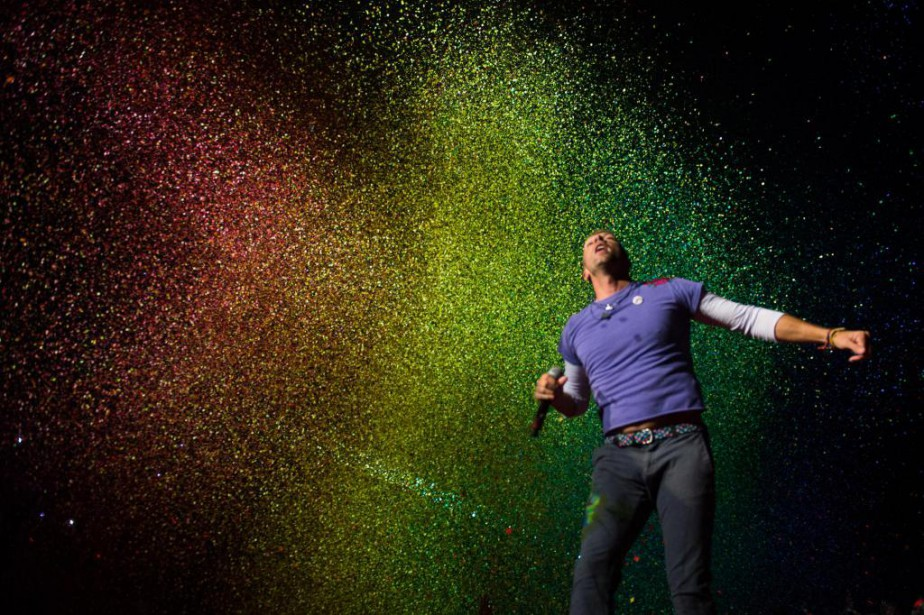 Coldplay était en spectacle mardi et mercredi au... (PHOTO CATHERINE LEFEBVRE, COLLABORATION SPÉCIALE)