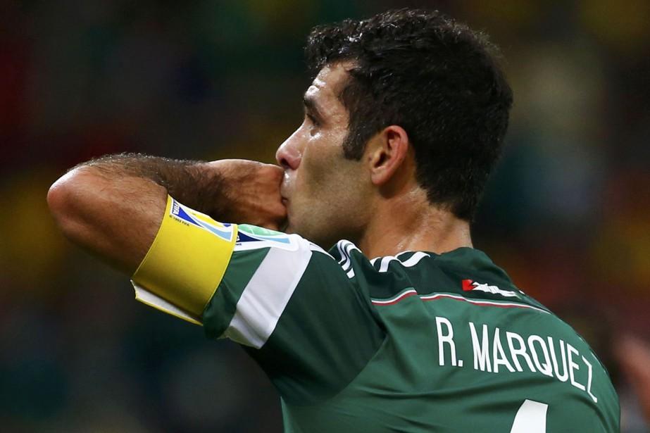 Rafael Marquez avait fait ses débuts dans l'équipe... (ARCHIVES REUTERS)
