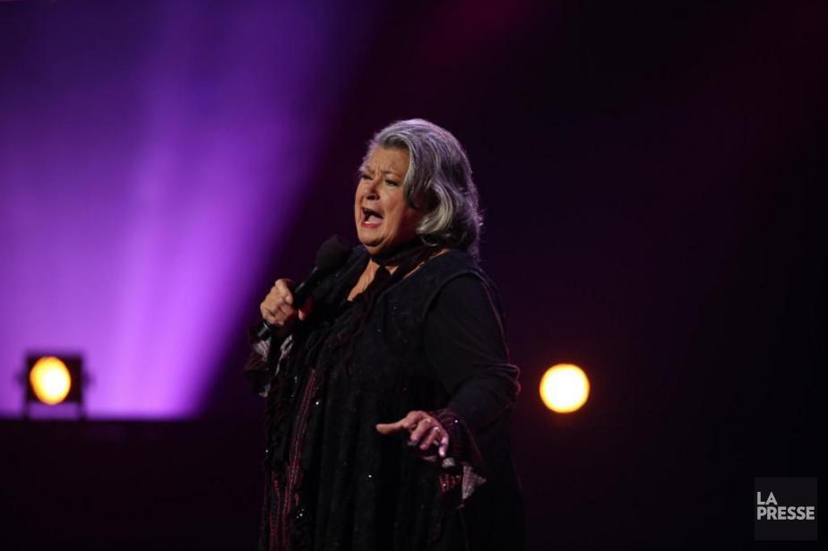 Ginette Reno offrira gratuitement un concert en plein... (Archives LA PRESSE, Martin Chamberland)