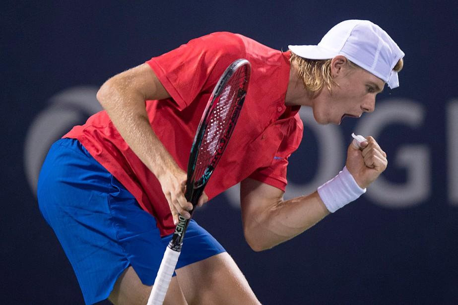 Denis Shapovalov a vaincuRafael Nadal jeudi soir au... (PHOTO PAUL CHIASSON, LA PRESSE CANADIENNE)
